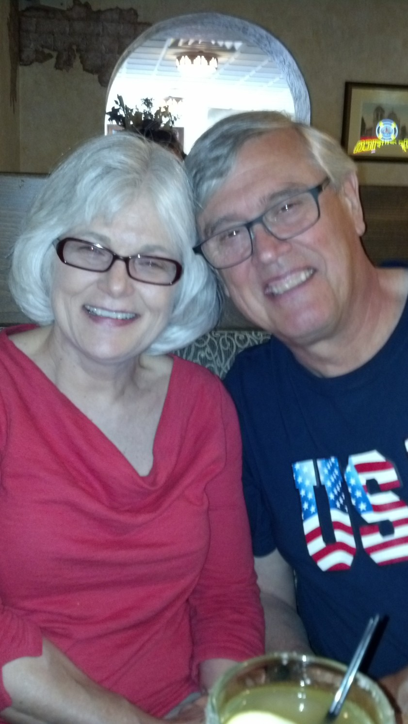 Cliff and Cyndy in Canon City July 2013